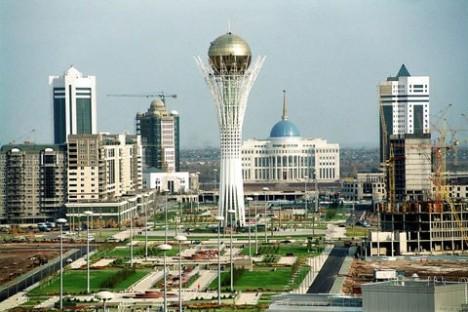 La nouvelle capitale du Kazakhstan, Astana