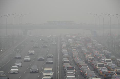 Une pollution inédite empoisonne l'air de Pékin 1