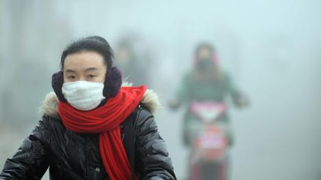 Une pollution inédite empoisonne l'air de Pékin 2