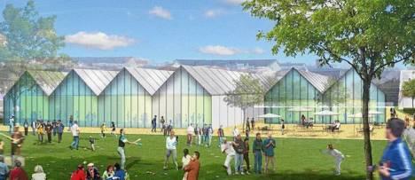 Le futur éco-quartier Monplaisir