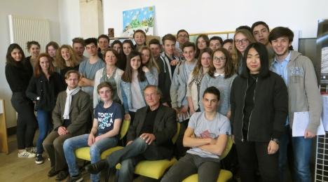 Conférence de l'auteur Pierre Péju2