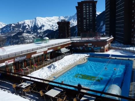 les piscines chauffées
