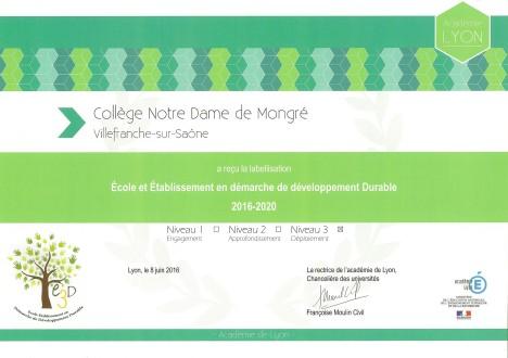 Mongré, double médaille d'or3